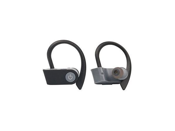Bluetooth 5.0 Sweatproof HD Sport Earphones - Grey - Product Image