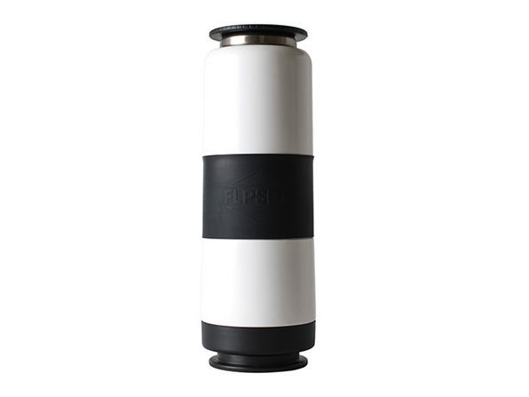 FLPSDE Dual-Chamber Water Bottle (Storm Trooper White)