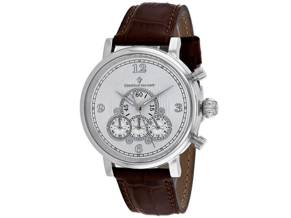 Christian Van Sant Men's Silver Dial Watch - CV0710 - Product Image