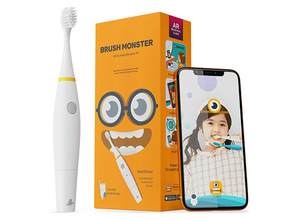 AquaSonic Brush Monsters AR Toothbrush