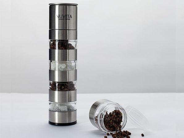 Nuvita Premium Stackable Mini Salt & Pepper Mill