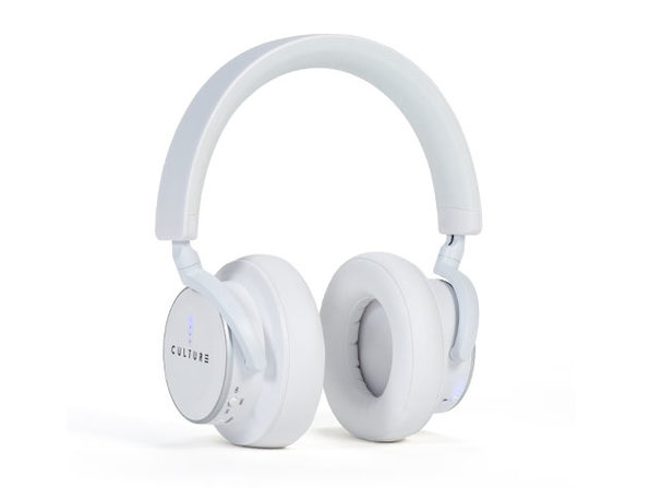 Culture Audio V1 Noise-Cancellation Bluetooth Headphones (White)