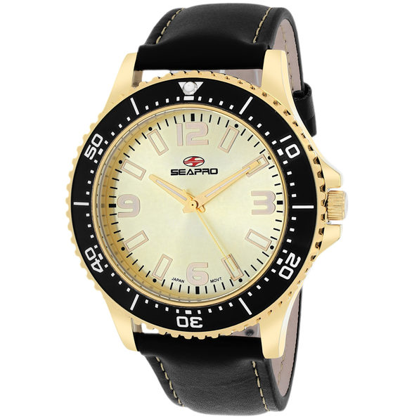 Seapro Men's Tideway Gold Dial Watch - SP5315