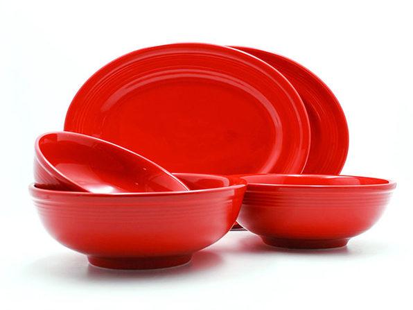 Concentrix 5-Piece Serving Set (Red)