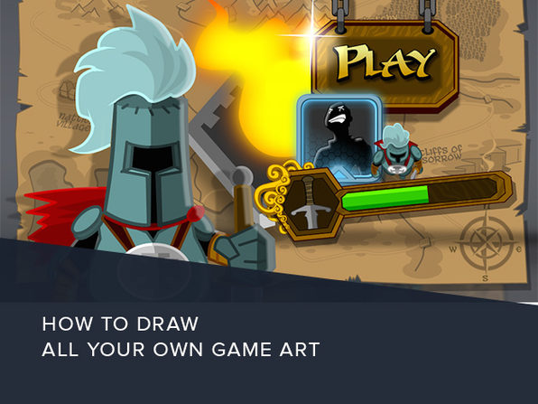 How to Draw All Your Own Game Art - Product Image