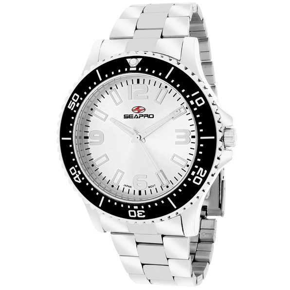 Seapro Men's Tideway Silver Dial Watch - SP5331 - Product Image
