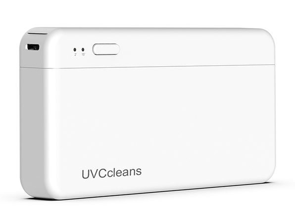 UVCcleans: World's First UVC Mask Box