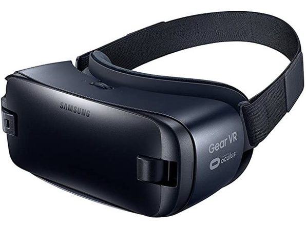 Samsung Gear VR 2016 - Virtual Reality Headset with Microphone - Dark Blue (Used, Open Retail Box)