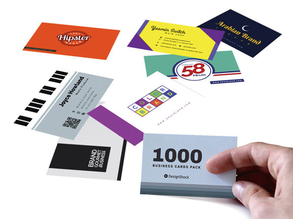 DesignShock 1,000 Business Card Template Bundle