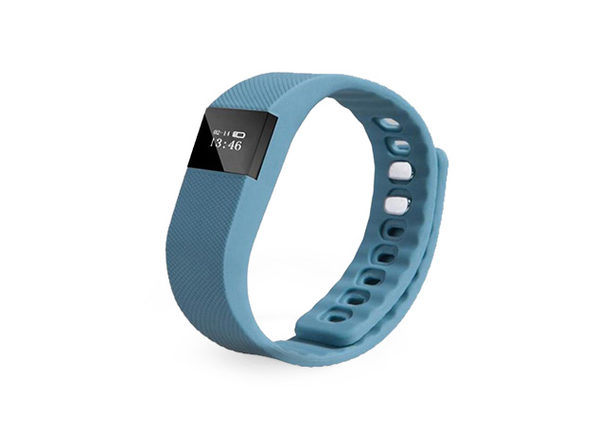 Fitness Activity Tracker Smart Wristband (Grey)