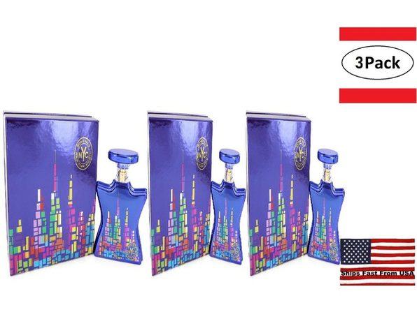 3 Pack Bond No. 9 New York Nights by Bond No. 9 Eau De Parfum Spray 3.4 oz for Women - Product Image