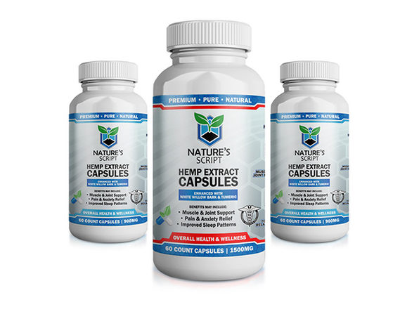 CBD Hemp Extract Capsules