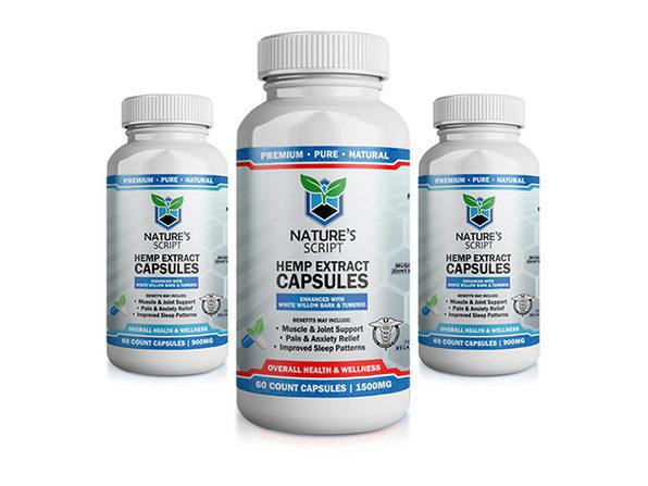 CBD Hemp Extract Capsules
