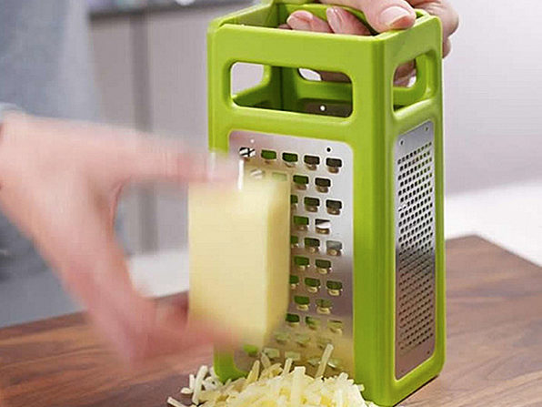 4-in-1 Foldable Slicer and Grater