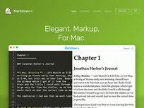Markdown+ Markup Editor - Product Image