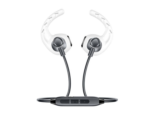Bluetooth Wireless Headphones (Black) + Earhoox (White) Bundle
