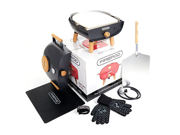 Firepod Bundle: Portable Multi-Functional Pizza Oven + Griddle
