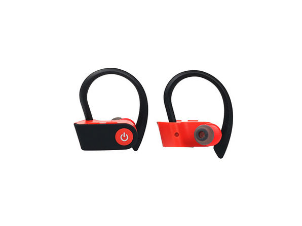 Bluetooth 5.0 Sweatproof HD Sport Earphones (Red)
