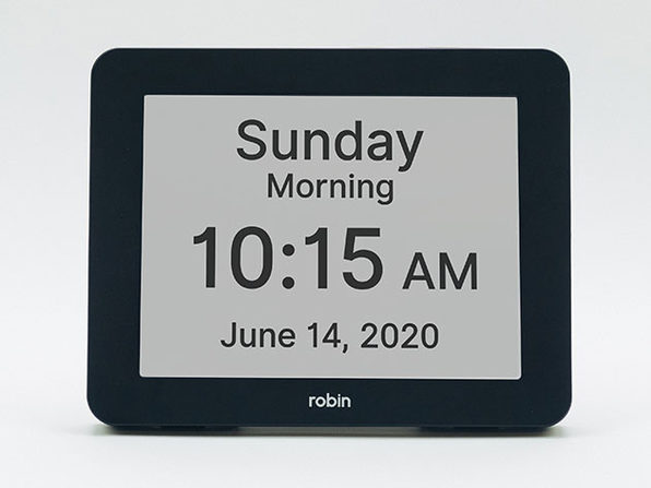 "Robin 8"" Digital Day Clock"