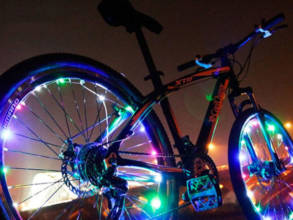 Bicycle Wheel LED Lights: 2-Pack