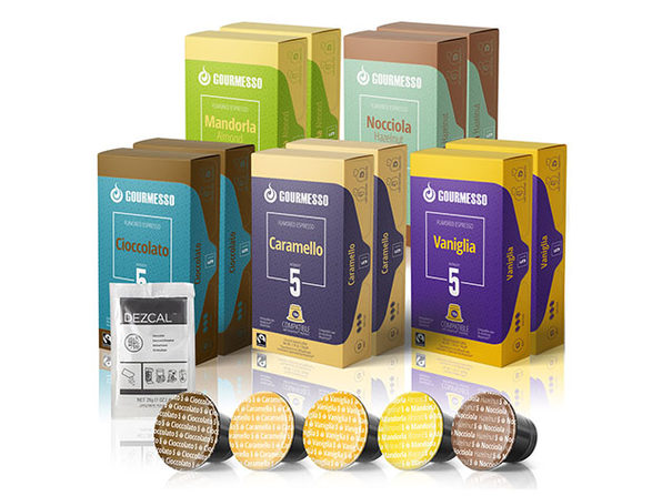 Gourmesso Flavored K-Cup Bundle - Standard Flavors, 10 Pack - Product Image