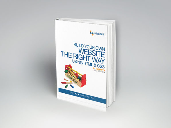 Build Your Own Website the Right Way Using HTML & CSS, 3rd Edition - Product Image