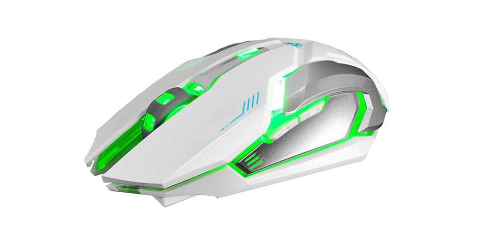 Ninja Dragon Stealth 7 Wireless Silent LED Backlit Mouse on sale for 30% off at $27.99