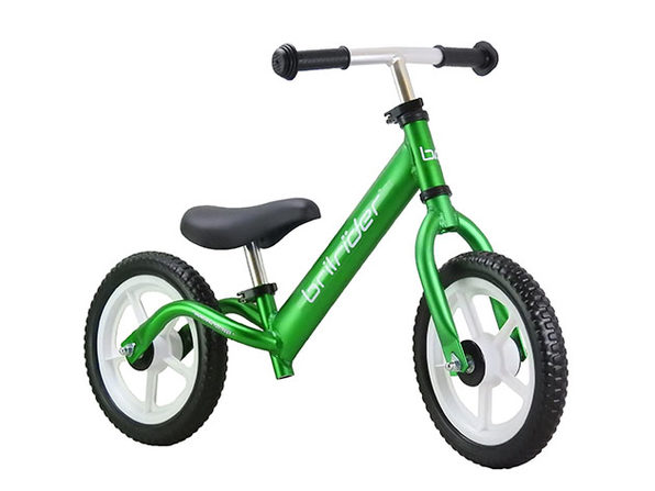 Brilrider FLIGHT: World's Lightest Balance Bike (Green)
