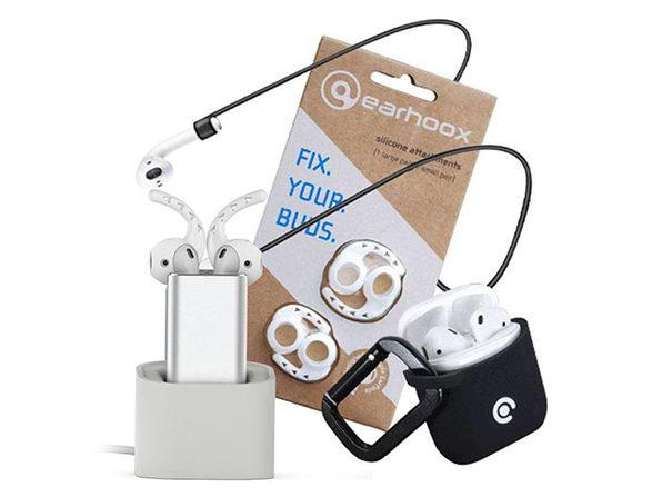 Earhoox: AirPod Survival Kit (Black)