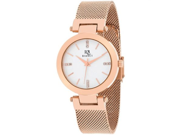 Roberto Bianci Women's Cristallo Silver Dial Watch - RB0402 - Product Image