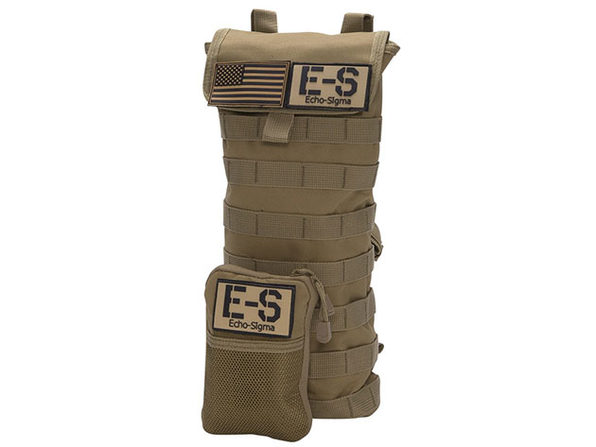 Runner 24-Hour Emergency Bag with KN95 Mask (Coyote Brown)