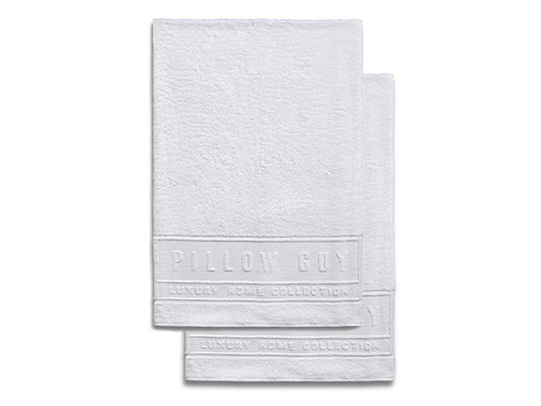 Luxe Pillow Guy Oversized Bath Towels: 2-Pack