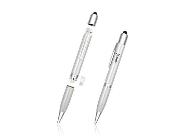 3-in-1 Power Pen (Silver)