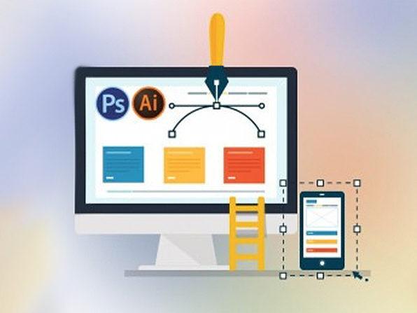 Designing A Website in Photoshop, Illustrator & GIMP