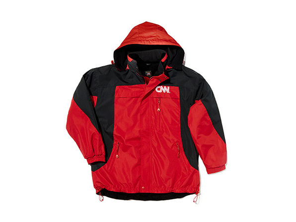 CNN On Air Jacket Red/Black S