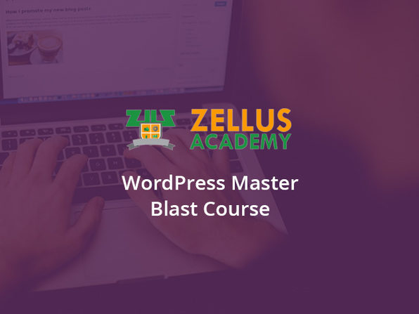 WordPress Master Blast Course - Product Image