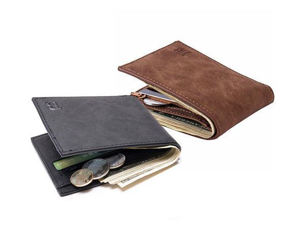 Baborry Men's Faux Leather Wallet