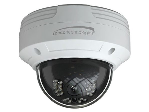 Speco Technologies VLDT5W 2MP HD-TVI Dome Camera,IR,2.8mm Lens