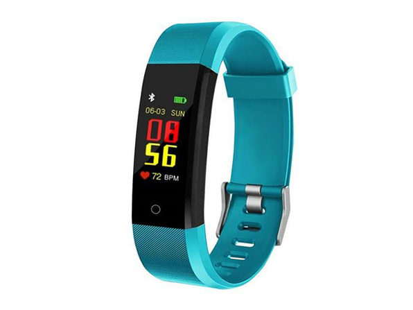 Waterproof Fitness Tracker With HR & BP Monitor - Green - Product Image