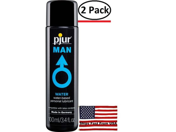 ( 2 Pack ) Pjur Man Waterbased Lubricant 3.4 Fl Oz
