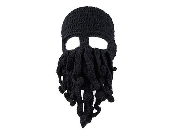 Octopus Hat (Black) - Product Image