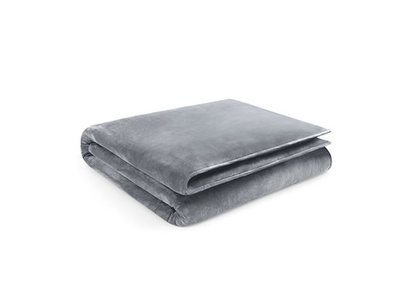 "Home Collection Grey Weighted Blanket (20LB/60"" x 80"")"