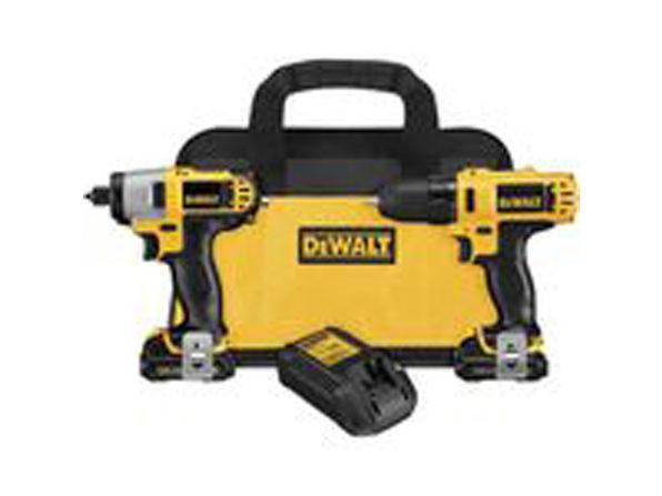 DEWALT DCK211S2 12-Volt Max Drill/Driver / Impact Drive - Product Image