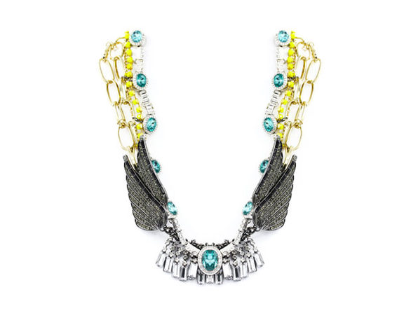 "Angel Wings Fantasy Necklace By ""The Countess"" Luann de Lesseps"