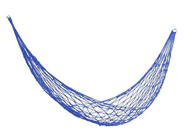 Nylon Mesh Hammock (Blue)