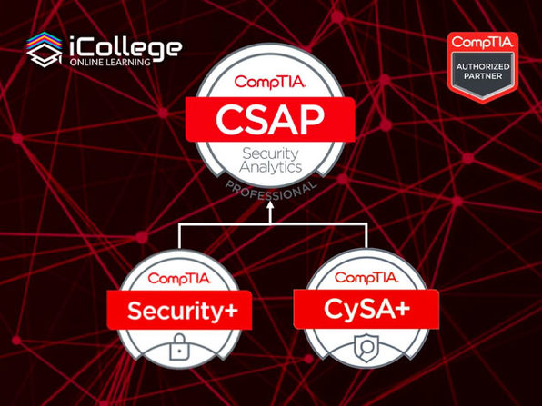 The CompTIA Security Analytics Expert Bundle - Product Image
