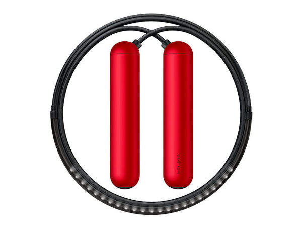 SmartRope: LED-Embedded Jump Rope (Red/Large)