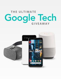 Sale giveaway googletech au
