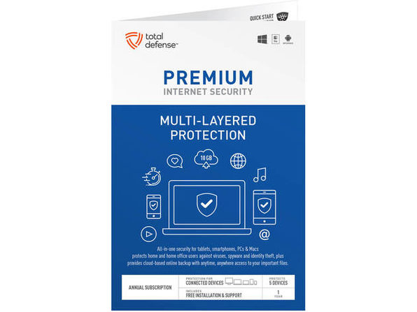 Total Defense TLD13138 Premium Internet Security - Product Image