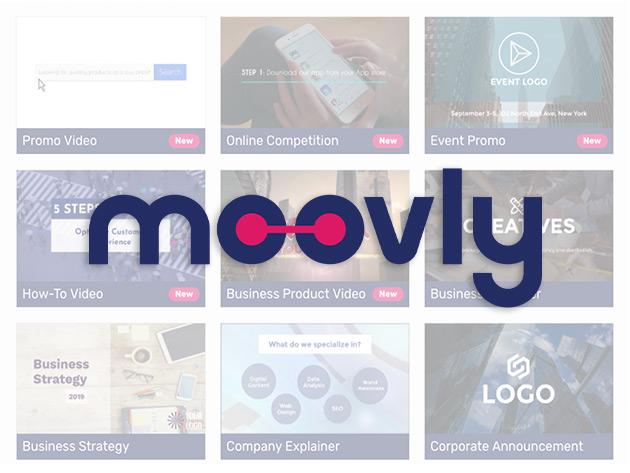 Stack Social Deal for Moovly Video Maker Pro Plan: Lifetime Subscription